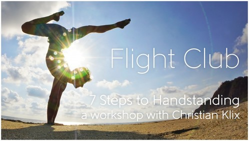 Flight-Club, Handstand Workshop Kiel, Yoga-Moment Kiel
