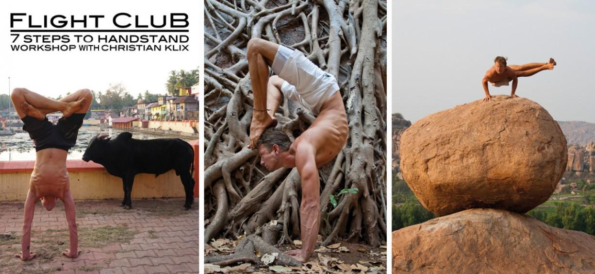 Yoga Workshop, Handstand, Flightclub, Yoga in Kiel