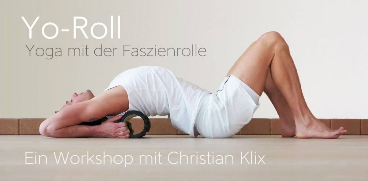 Yo- Roll, Yoga, Faszien, Faszienrolle, Workshop Kiel