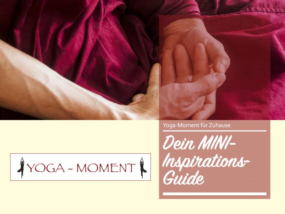 Yoga-Moment Mini Inspirationsguide für Zuhause, Yoga Zuhause, Online Yogavideos